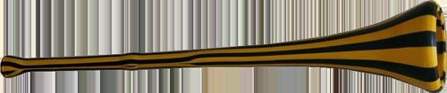 una vuvuzela tipo quella usata nei mondiali sudafricani